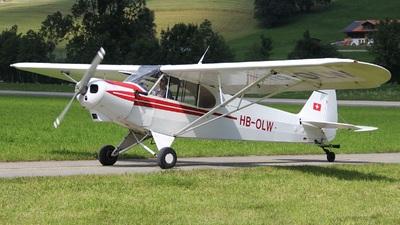 HB-OLW - Piper PA-18-180 Super Cub - Private