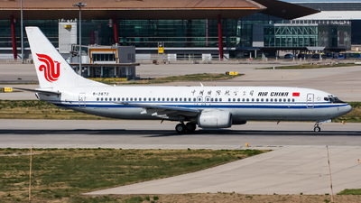 A picture of B2672 - Boeing 73789L - Air China - © Chingwang Lee