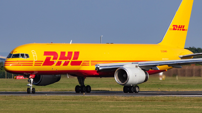 A picture of GDHKP - Boeing 757223(PCF) - DHL - © William Bradley