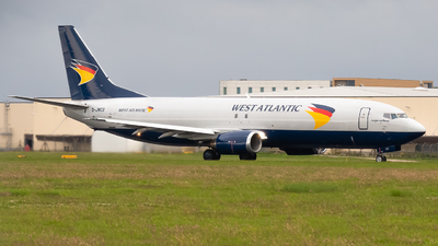 G-JMCS - Boeing 737-4Y0(SF) - West Atlantic Airlines