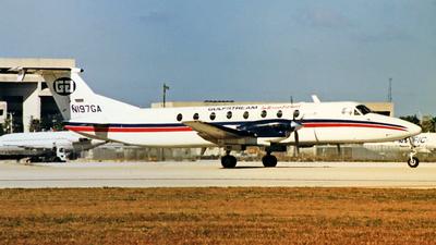 A picture of N197GA - Beech 1900C - Alpine Air Express - © Michael Eaton