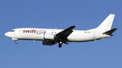 A picture of ECMAD - Boeing 7374Y0(SF) - Swiftair - © Simone Previdi