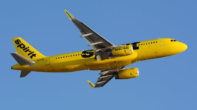 N648NK - Airbus A320-232 - Spirit Airlines