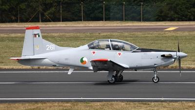261 - Pilatus PC-9M - Ireland - Air Corps