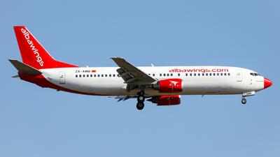 ZA-AWB - Boeing 737-408 - Albawings