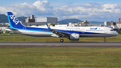 A picture of JA148A - Airbus A321272N - All Nippon Airways - © kazuu