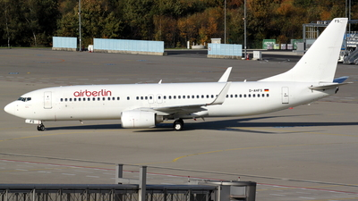D-AHFS - Boeing 737-8K5 - Air Berlin