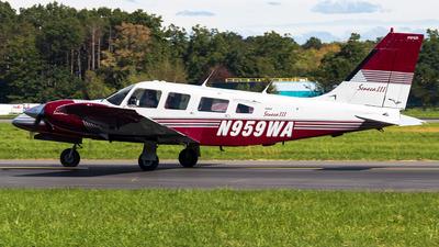 N959WA - Piper PA-34-200T Seneca II - Private