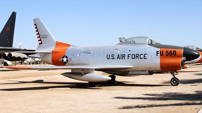 50-0560 - North American F-86L Sabre - United States - US Air Force (USAF)