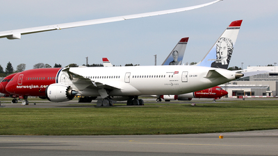A picture of LNLNV - Boeing 7879 Dreamliner - Norwegian - © Stig Rokkones
