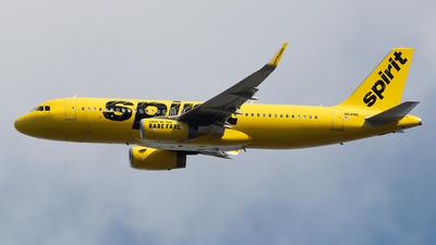 N641NK - Airbus A320-232 - Spirit Airlines