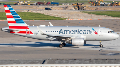A picture of N9011P - Airbus A319115 - American Airlines - © Davin Amy