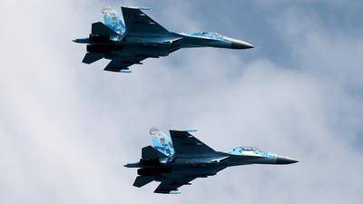 58 - Sukhoi Su-27P Flanker - Ukraine - Air Force