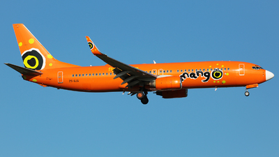 ZS-SJG - Boeing 737-8BG - Mango
