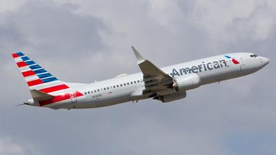 A picture of N336RU - Boeing 737 MAX 8 - American Airlines - © Matthew Scott