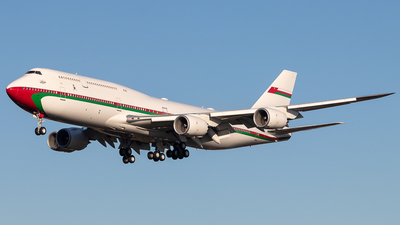 A4O-HMS - Boeing 747-8H0(BBJ) - Oman - Royal Flight