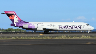 A picture of N483HA - Boeing 71722A - Hawaiian Airlines - © AL-Alan Lebeda