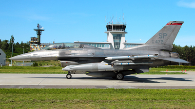 91-0472 - Lockheed Martin F-16DJ Fighting Falcon - United States - US Air Force (USAF)