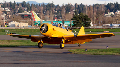 N5115D - North American T-6G Texan - Private