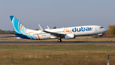 A6-FEC - Boeing 737-8KN - flydubai