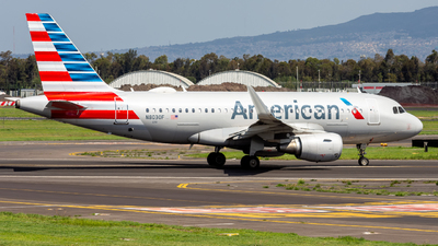 A picture of N8030F - Airbus A319115 - American Airlines - © Hans Bravo