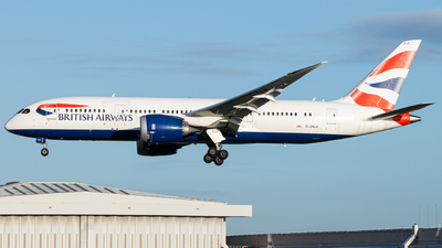 A picture of GZBJE - Boeing 7878 Dreamliner - British Airways - © Frankie A Said