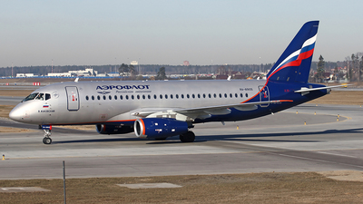 A picture of RA89105 - Sukhoi Superjet 10095B - Aeroflot - © Airyura