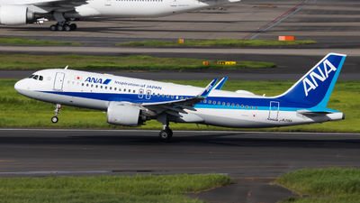 A picture of JA215A - Airbus A320271N - All Nippon Airways - © Fumihiro Ono