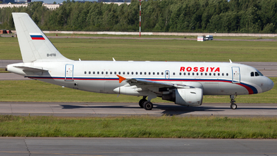 EI-ETO - Airbus A319-112 - Rossiya Airlines
