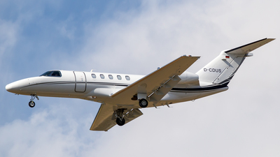 D-CDUS - Cessna 525 Citationjet CJ4 - Private