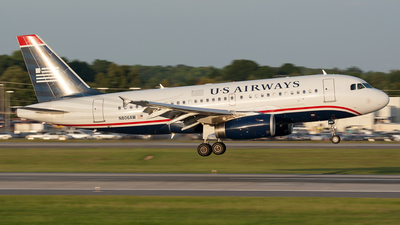 N806AW - Airbus A319-132 - US Airways