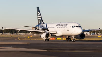 ZK-OJF - Airbus A320-232 - Air New Zealand