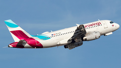 A picture of OELYW - Airbus A319132 - Eurowings - © Rui Sequeira