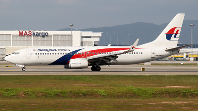 9M-MSG - Boeing 737-8H6 - Malaysia Airlines