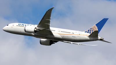 N30913 - Boeing 787-8 Dreamliner - United Airlines