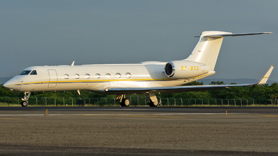 8P-MSD - Gulfstream G550 - Private