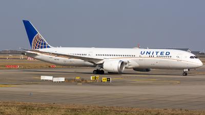 N27959 - Boeing 787-9 Dreamliner - United Airlines