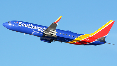A picture of N8301J - Boeing 7378H4 - Southwest Airlines - © Khoa Vu