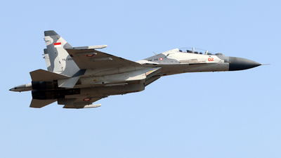 TS-3002 - Sukhoi Su-30MK2 - Indonesia - Air Force