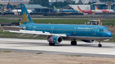 A picture of VNA361 - Airbus A321231 - Vietnam Airlines - © Cao Kim Do