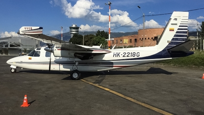 HK-2218G - Rockwell 690B Turbo Commander - Private