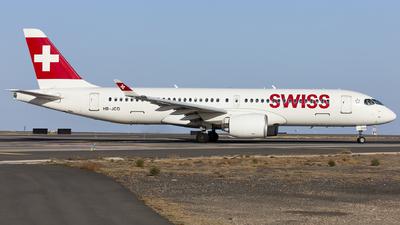 A picture of HBJCO - Airbus A220300 - Swiss - © Manu Aldana