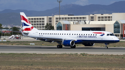 G-LCYV - Embraer 190-100SR - BA CityFlyer
