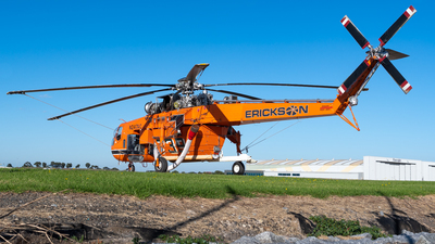 N247AC - Sikorsky S-64F Skycrane - Erickson Air-Crane