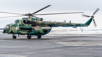 RF-23117 - Mil Mi-8AMTSh Hip - Russia - Federal Border Guards Aviation Command