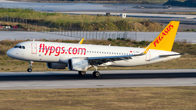 A picture of TCNCT - Airbus A320251N - Pegasus Airlines - © Alp AKBOSTANCI