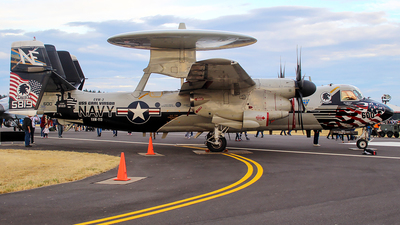 165819 - Grumman E-2C+ Hawkeye 2000 - United States - US Navy (USN)