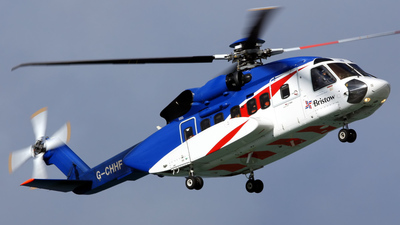 G-CHHF - Sikorsky S-92A Helibus - Bristow Helicopters