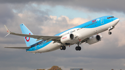 A picture of DATUR - Boeing 7378K5 - TUI fly - © Bianca Renz