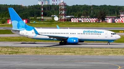 VP-BQE - Boeing 737-8MC - Pobeda